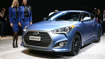 Hyundai показал Veloster Turbo 2016 года
